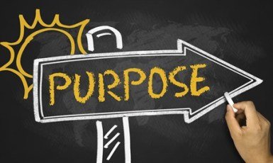 Purpose moves forward.